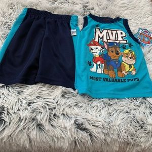 Nickelodeon Paw Patrol Outfit Size 12 months NWT